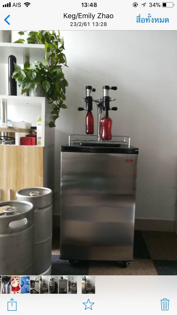China Kegerators&Draft Beer Dispensers, Keg Fridge - China Beverage ...