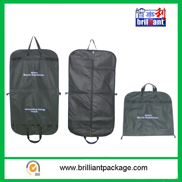 Nonwoven Foldable Garment Suit Bag with Customized Logo pictures & photos