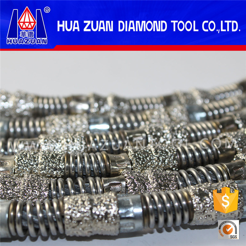 Aggressive Vacuum Brazed Diamond Wire Saw pictures & photos