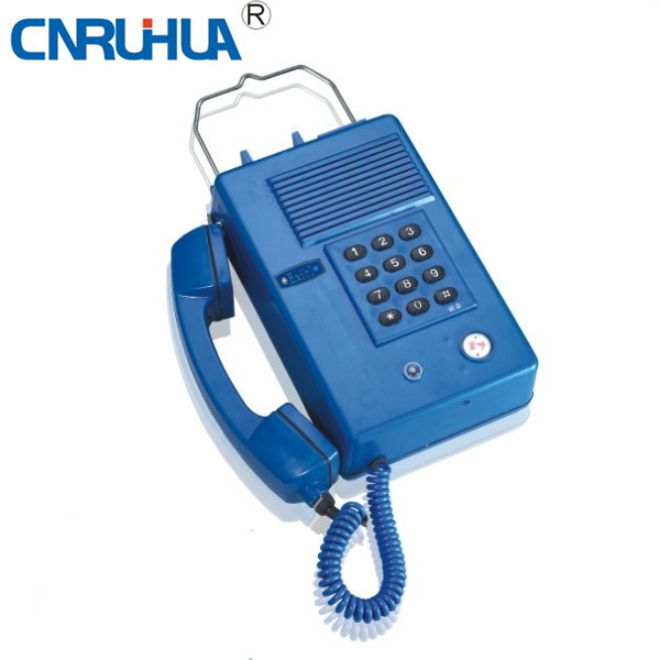 China Explosion Proof Intrinsic Safety Telephone Kth17b - China ...
