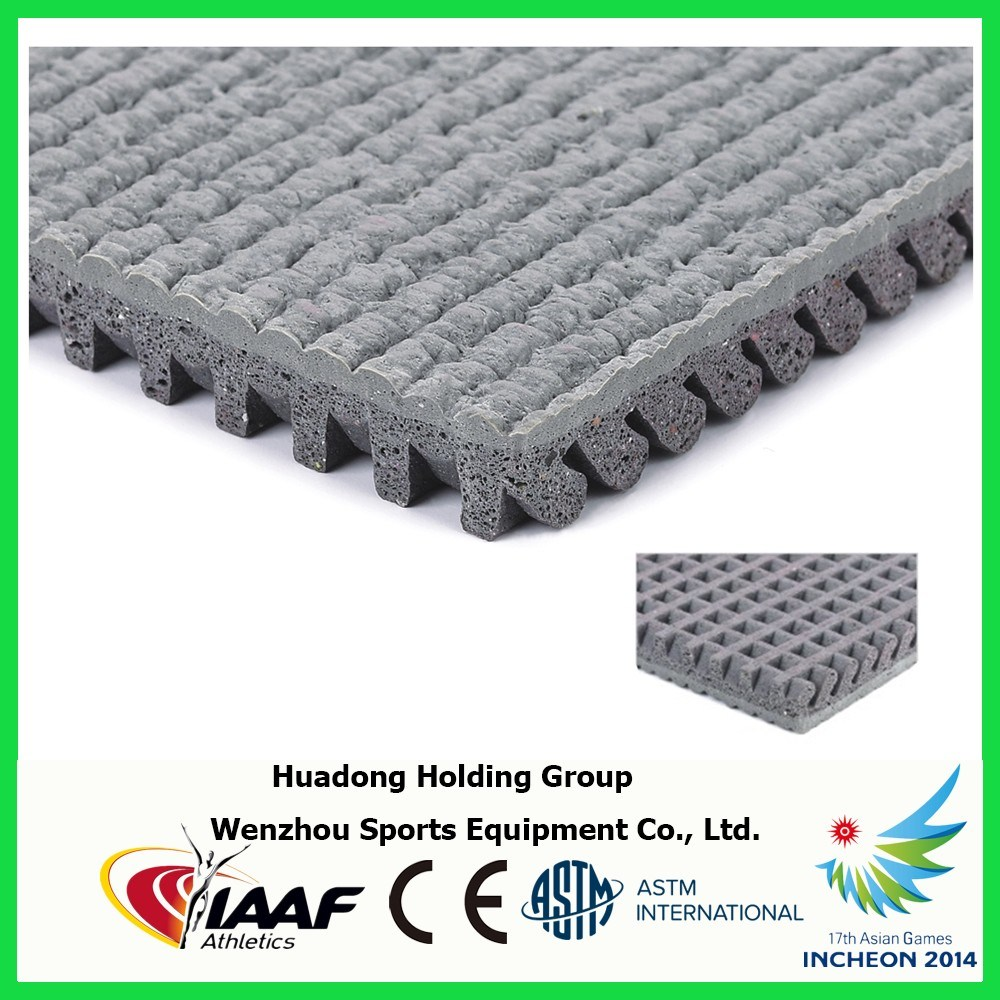 Rubber Flooring for Exterior Playground, School, Track and Field pictures & photos