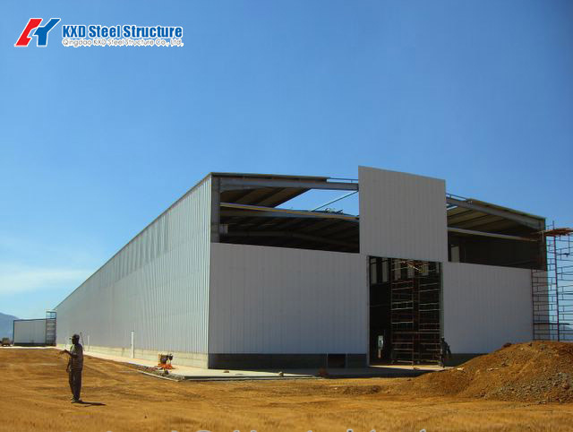 Pre-Engineered Wholesale Factory Construction Steel Structure Modular Warehouse Building