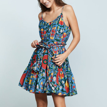 0f6832a337476 Customized Women Summer Causal Floral Dress in Good Price. Get Latest Price