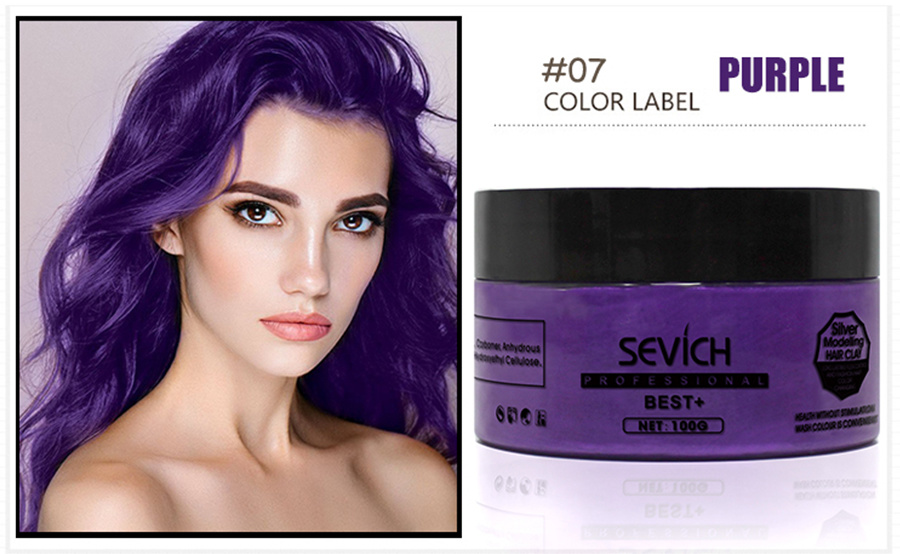 China Oem Natural Hair Color Wax In Hair Styling Photos Pictures