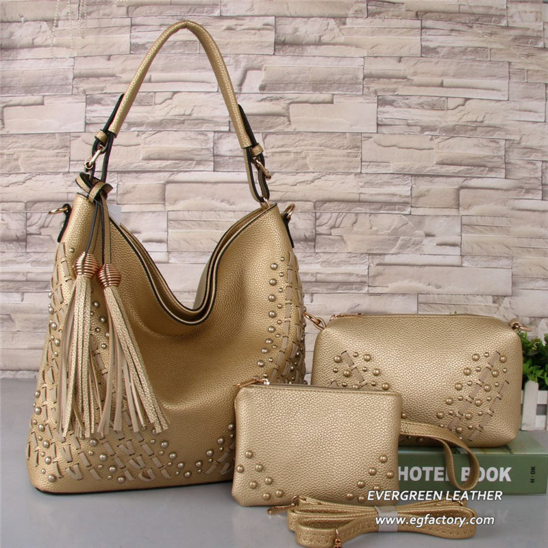 China 3PCS Latest Design Bags Ladies Tassel Handbag Set Sh619 Photos ... 39d1cc5f37473