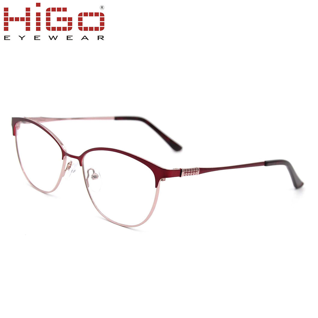 China Spectacle Nice Look Fashion Eyeglasses Metal Frames for ...