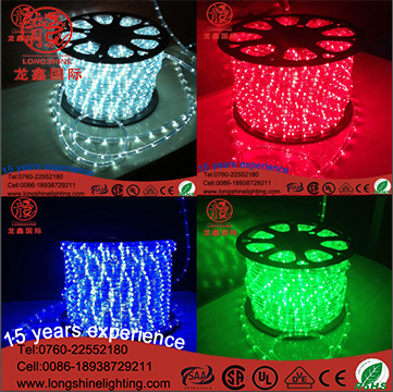 China Led Rope Light For Indoor Outdoor