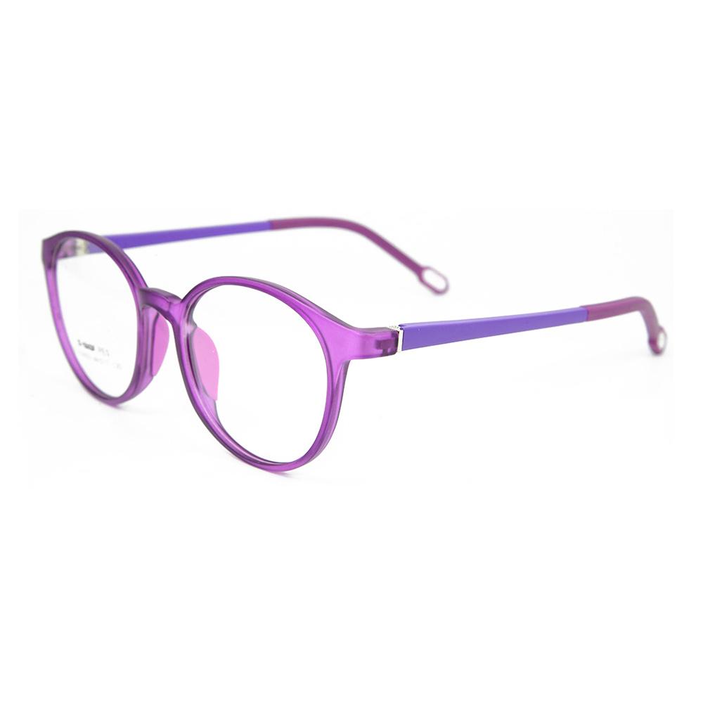 China Latest Tr90 Light Kids Eyewear Double Colours Optical Glasses ...