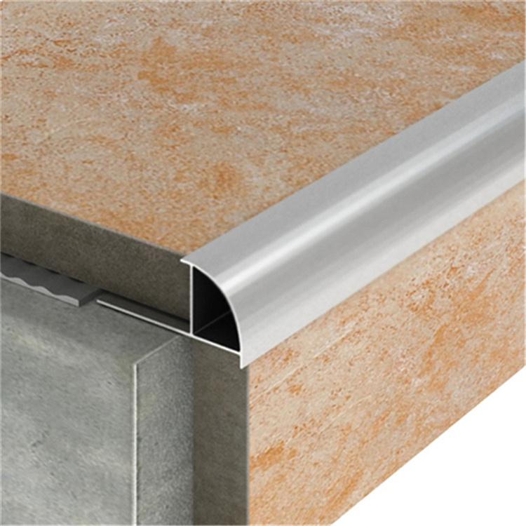 China Straight Edge Aluminum Tile Trim For Ceramic Tile China