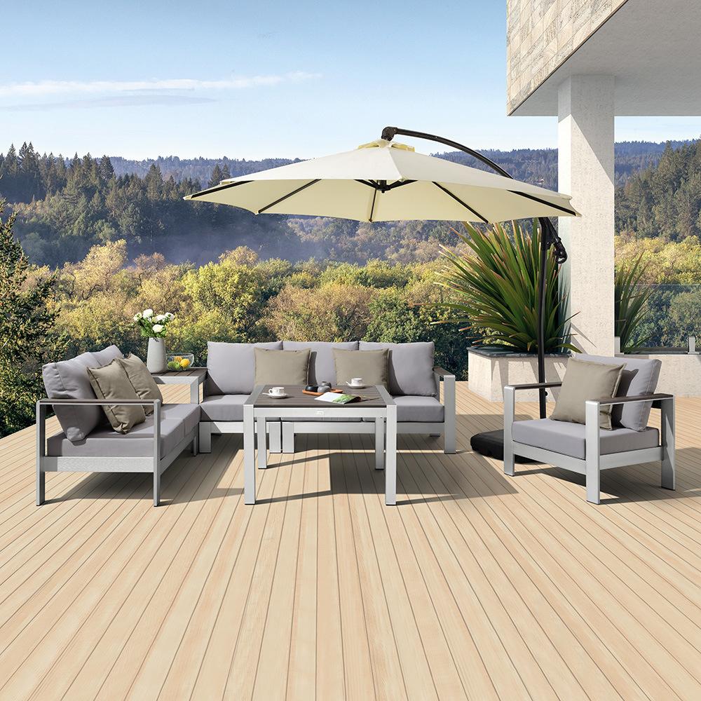 Leisure Outdoor Sofa Patio Aluminum