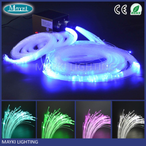 Hot Item Diy Decorative Star Ceiling Light Led Fiber Optic Kit With Le Effect