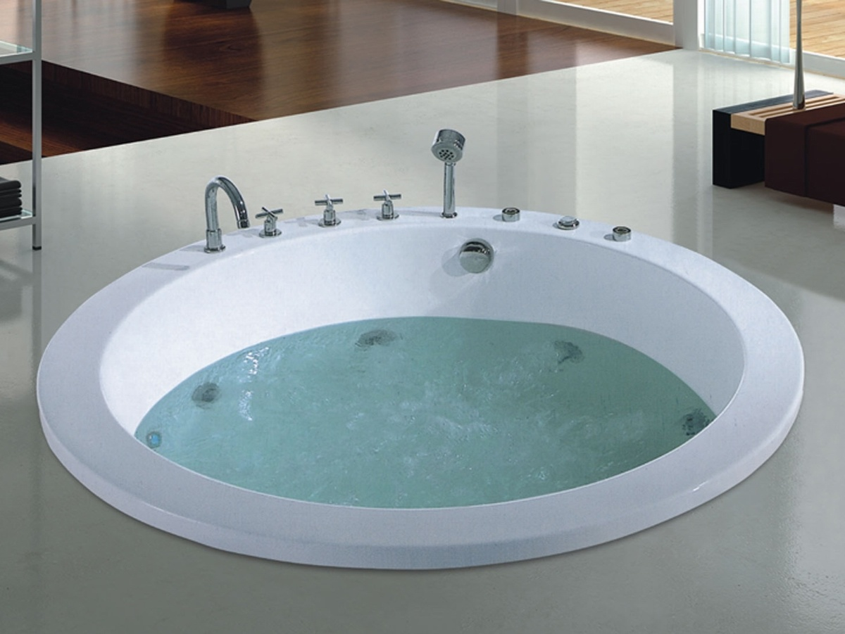 China 1900mm Build-in Massage Bathtub SPA for Villa (AT-8810-3 ...