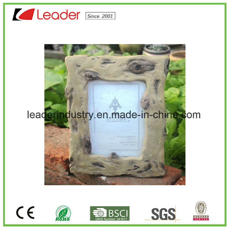 China Polyresin Decorative Wood-Look Photo Frames for Promotional ...