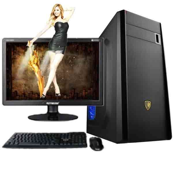 Wholesale Desktop Computer DJ-C002 I3 4G RAM & 500 HDD pictures & photos