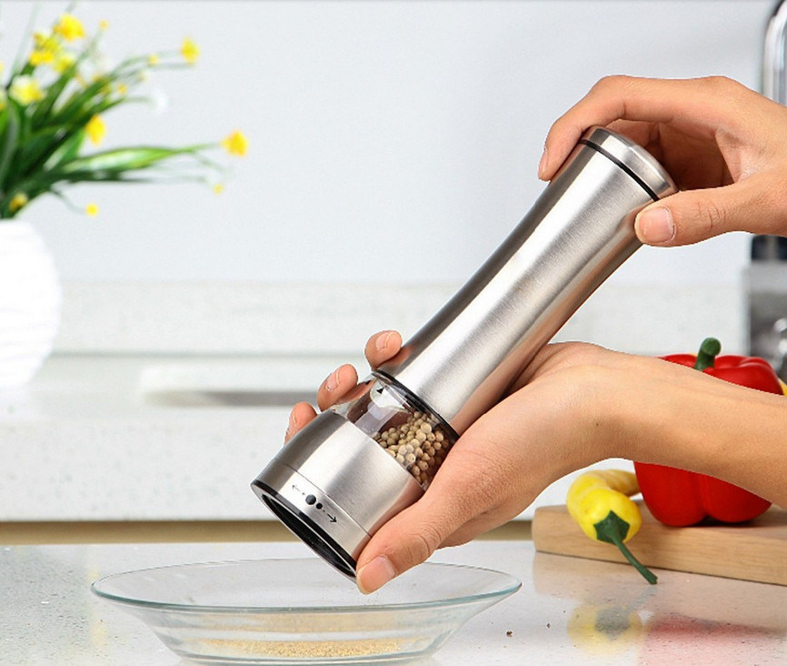 High Quality Stainless Steel Kitchenware Manual Salt Pepper Mill pictures & photos
