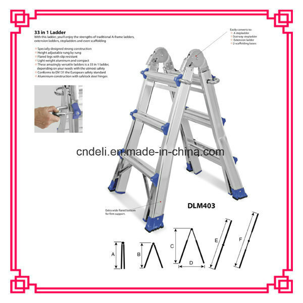 Multi-Purpose Combination Aluminium Little Giant Ladder pictures & photos