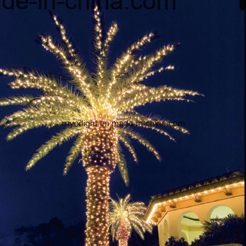 christmas beach palm tree light led string lights for garden decoration