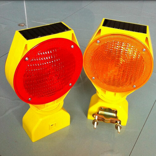China Road Safety Durable Solar Flash Lights With Ce