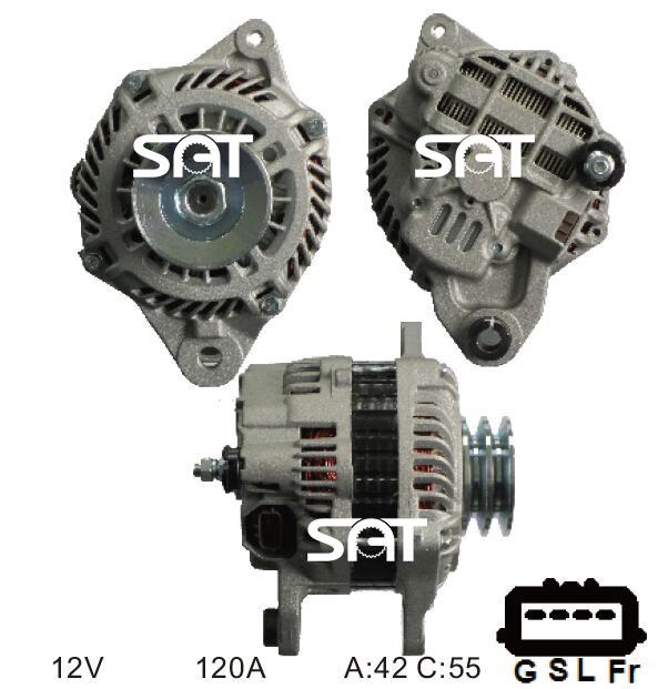 mitsubishi alternator replacement