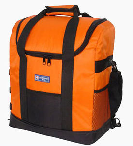 02a183f80223 China Orange Insulated Cooler Bag Backpack Lunch Portable Beer Wine ...