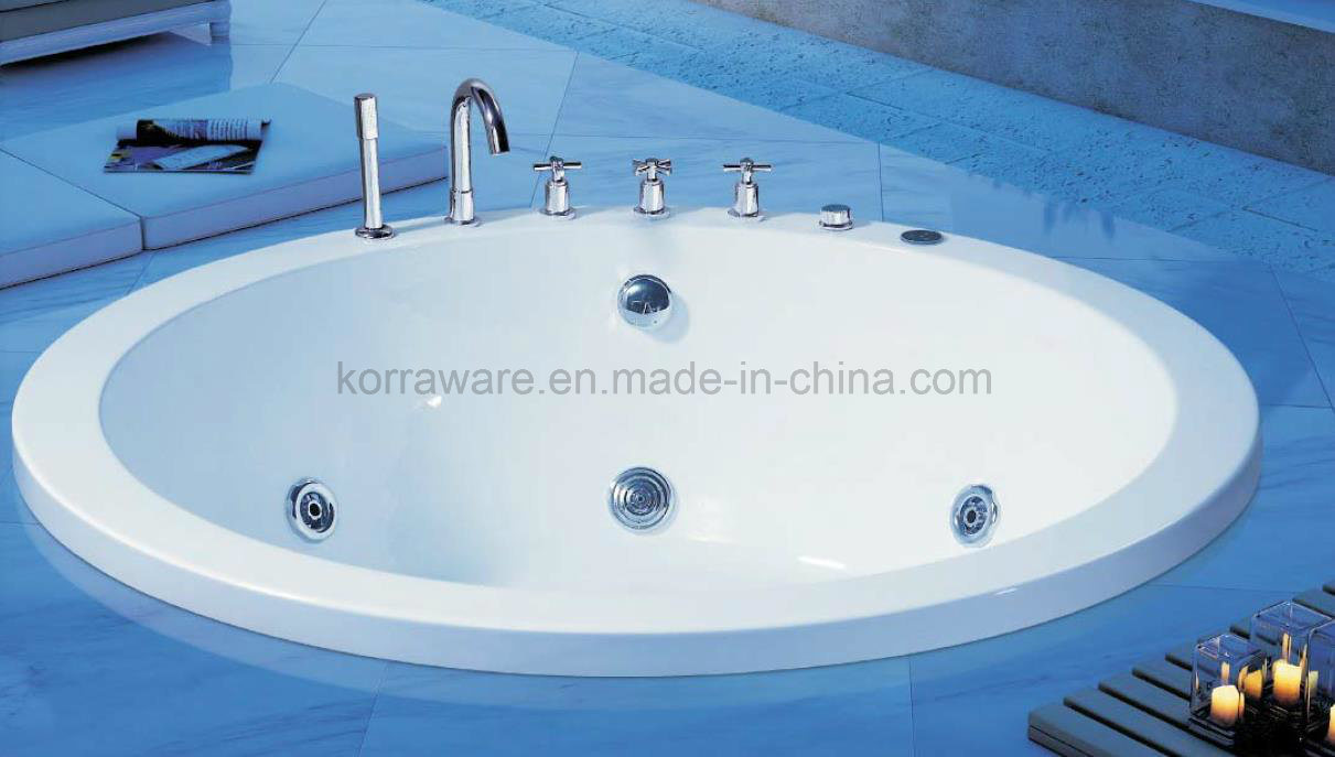 China (K1215) Freestanding Acrylic Bathtubs / Massage Whirlpool ...