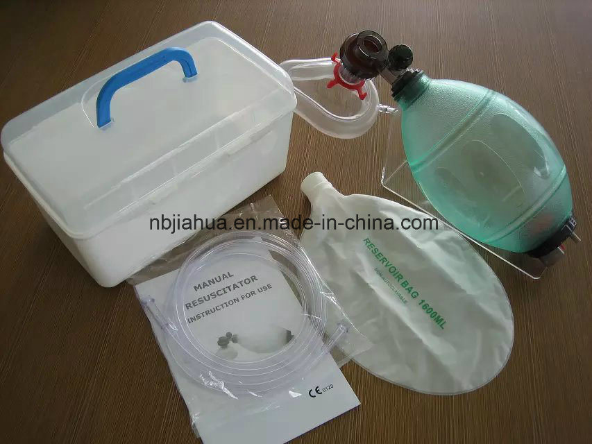 Silicone Manual Resuscitator for Adult Reusable