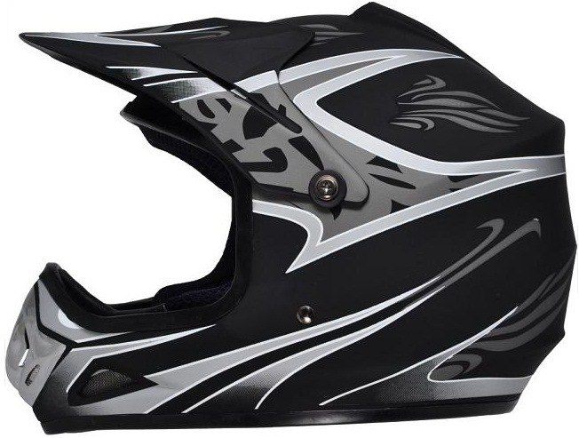 Motocross Fox Helmet with Full Face Shield Visor, Casco Moto. Road-Cross Helmet pictures & photos