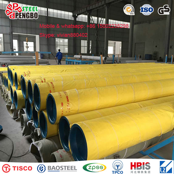 304/316L/310S/201 Stainless Steel Seamless Pipe with Ce Factory pictures & photos