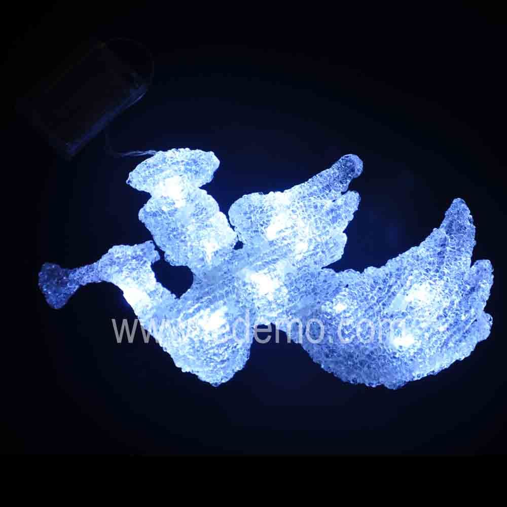 china led christmas decoration acrylic angel light angle 28cm china led angel light decoration light