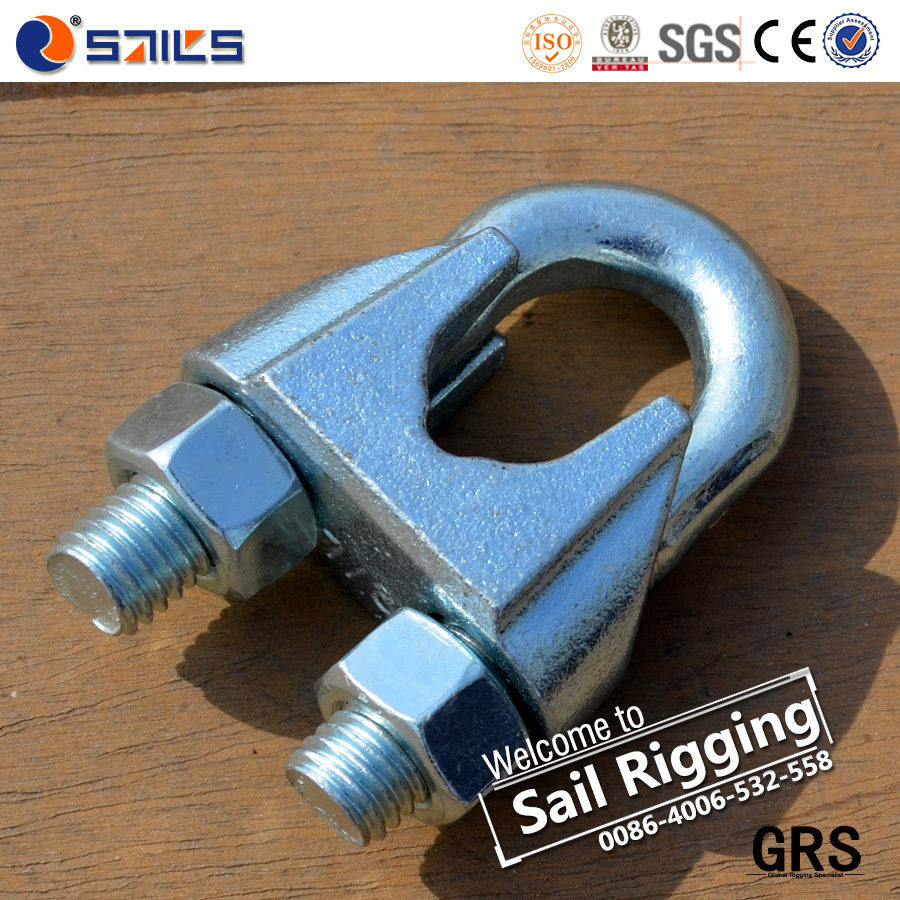 China Malleable Rigging Galvanized Wire Rope Clamps - China Wire ...