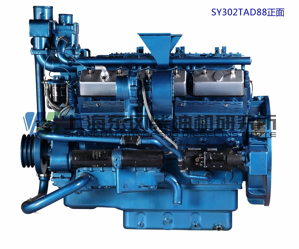 12cylinder, Cummins, 243kw, Shanghai Dongfeng Diesel Engine for Generator Set,