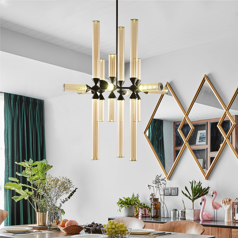 China Modern Living Room Cognac Glass, Height To Hang Chandelier In Living Room
