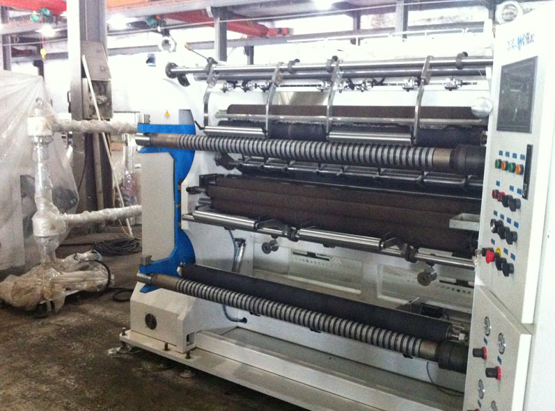 Automatic High Speed Plastic Film Slitting Machine pictures & photos