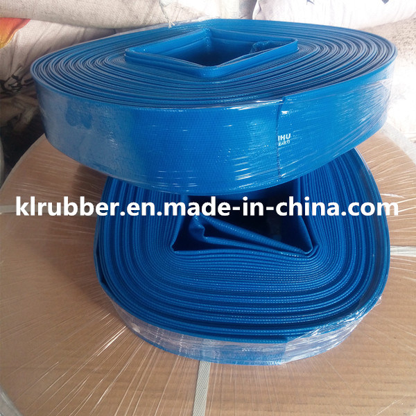 High-Pressure PVC Layflat Hose for Farmland Irrigation and Draining pictures & photos