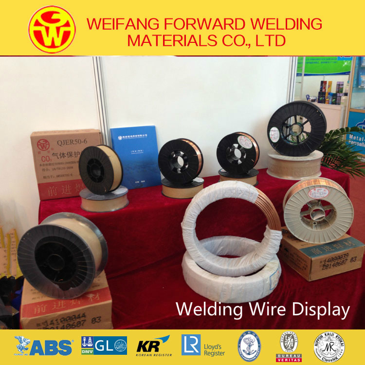 Welding Product 1.2mm 15/20kg/D270 Plastic Spool MIG Welding Wire with Low Carbon Steel Wire
