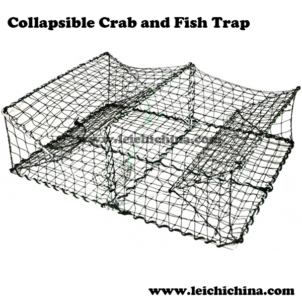 Top Quality Collapsible Crab and Fish Trap