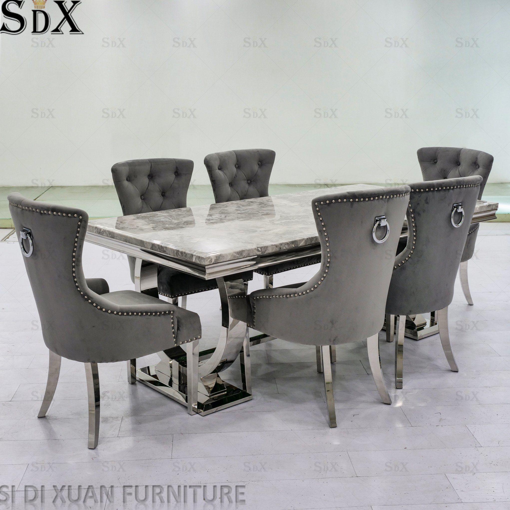China Modern Popular Ariana Design Home Dining Room Furniture Dining Table Set China Dining Table Set Furniture Set