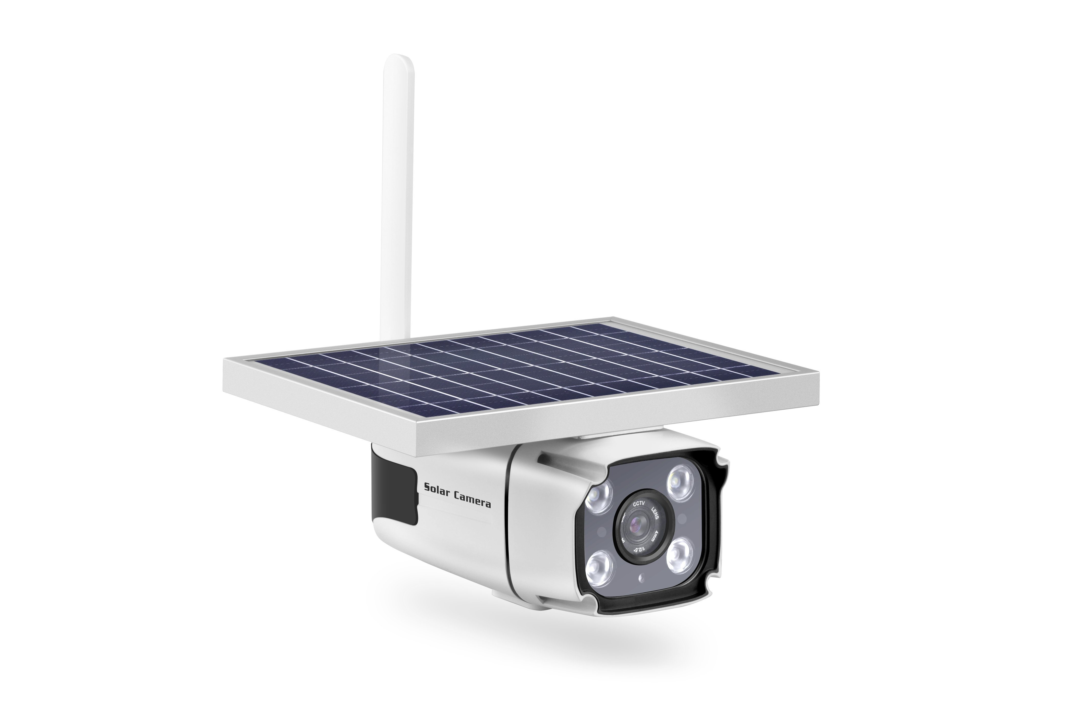 1080P 2MP 4G Solar Power Wireless Outdoor Waterproof CCTV Security IP Camera pictures & photos