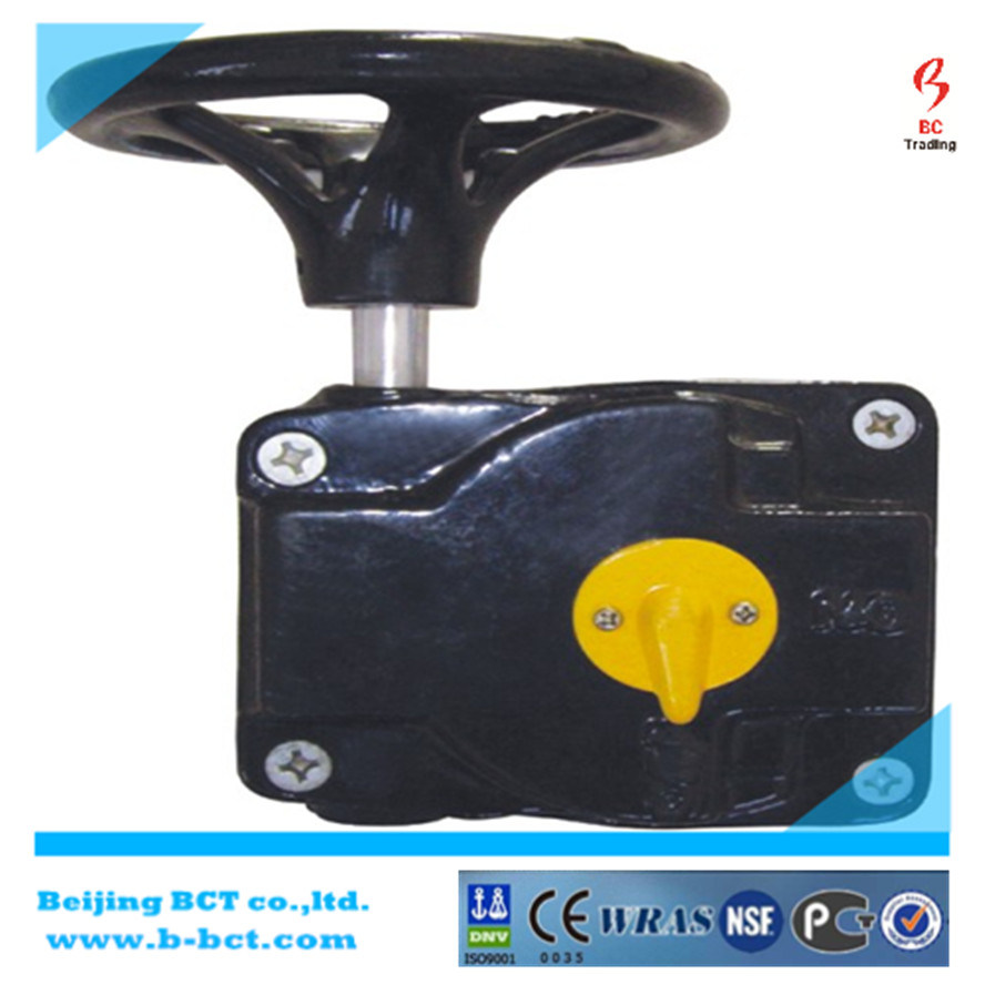 Lt Butterfly Valve with Handle or Gear Worm pictures & photos