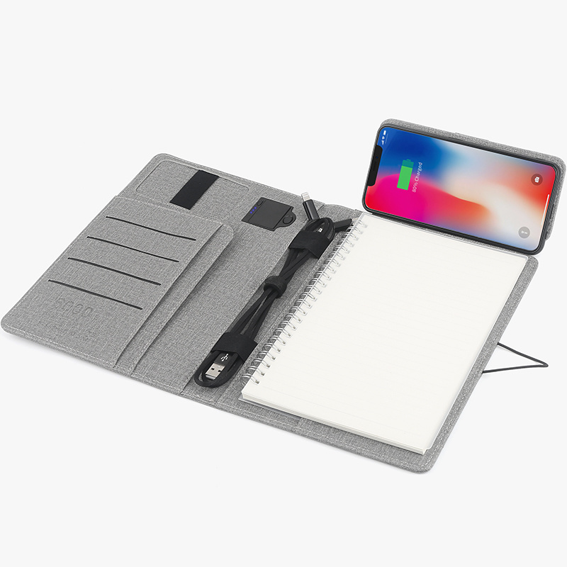 Smart Charging Notebook with Built-in Power Bank