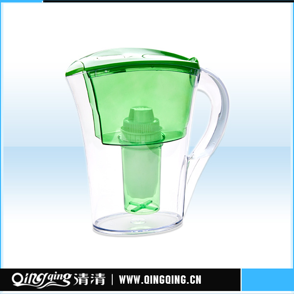 Portable Water Pitcher Kettle with Filter Cartridge