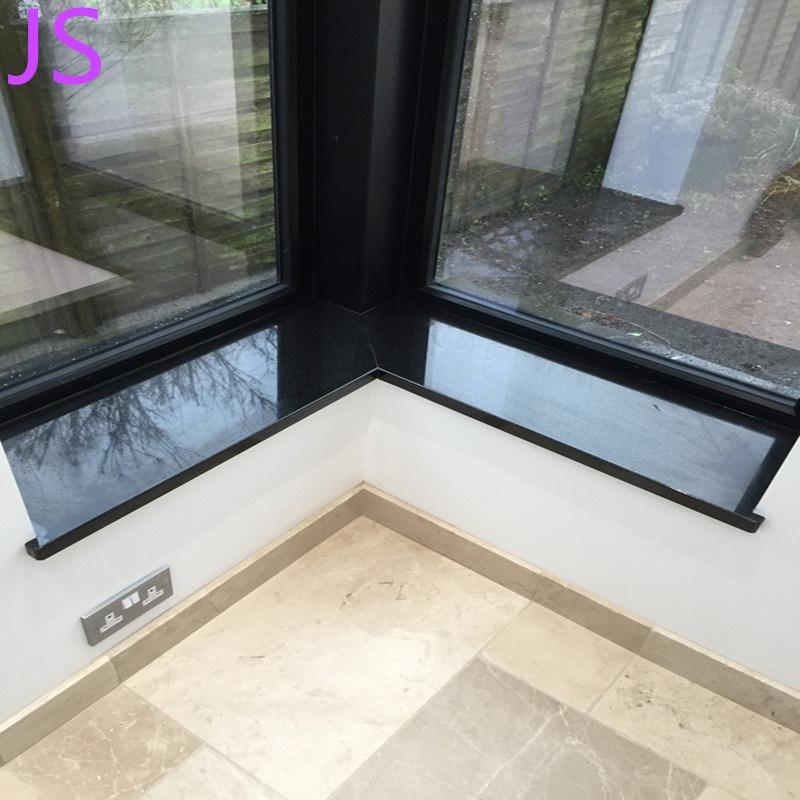 China Premium Black Granite Windowsill For Indoor And