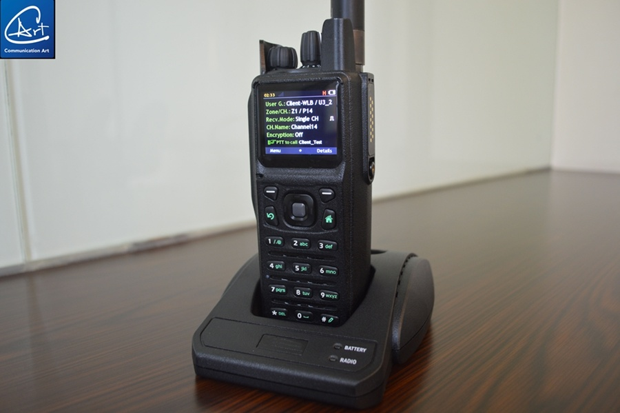 China AES-256 Encrypted Radio Handheld Transceiver for Amry
