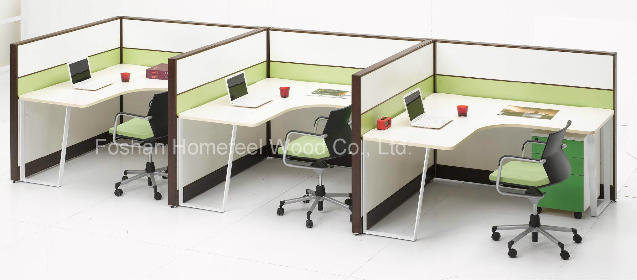 China Modern Modular Office Layout Computer Workstation