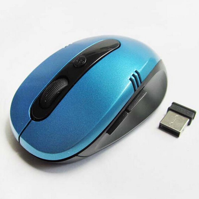 Blu-Ray Photoelectric 2.4G Optical Computer Wireless Mouse Support OEM Logo pictures & photos