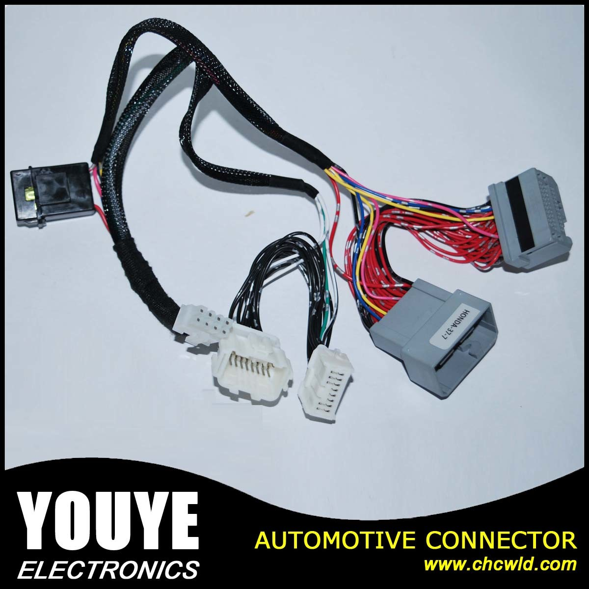China Factory Custom Honda Automotive Wire Harness - China Wire ...