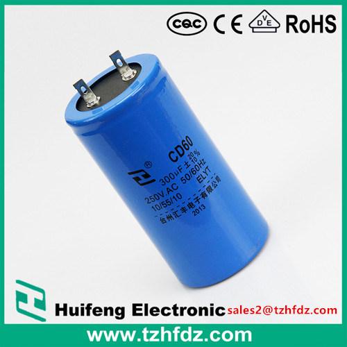 [Hot Item] CD60 250VAC Motor Starting Capacitor