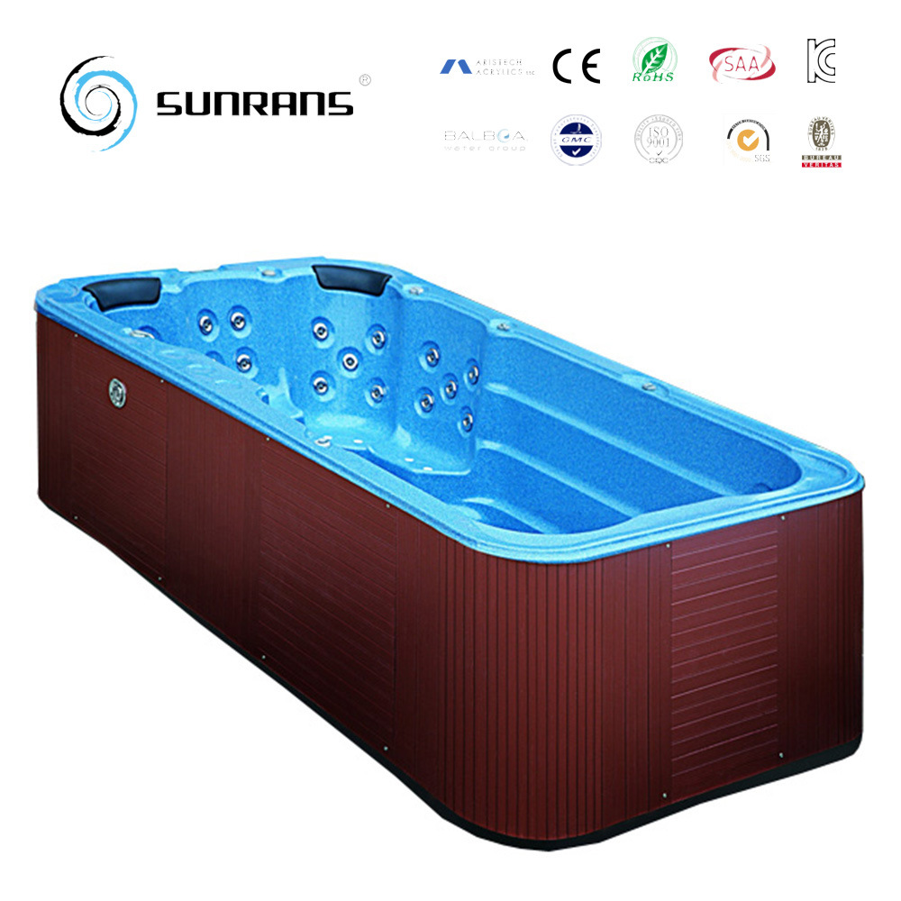 China Swim SPA Bathtub Hot Tub with Aristech Acrylic - China Swim ...