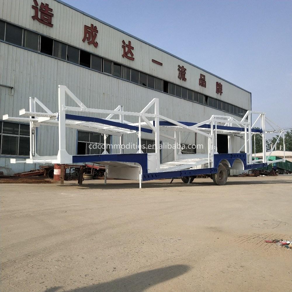 [Hot Item] China Made Hot Sale Sedan Trailer 6 Small Car Transporter  Trailer Car Carrier Truck for Sale