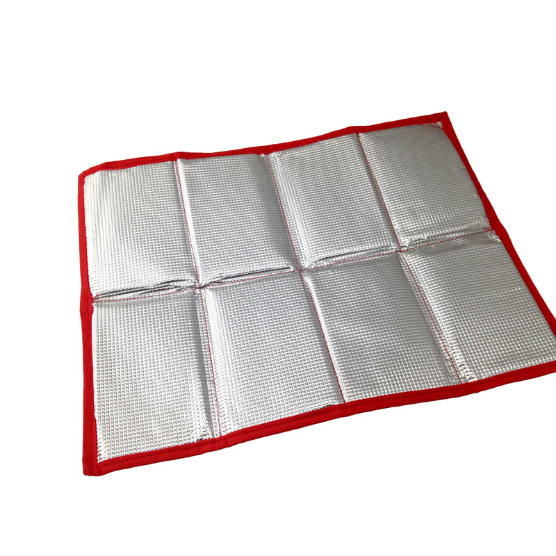 8 Panel Red Stadium Foldable Seat Cushion